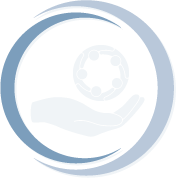circular icon security