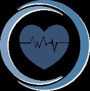 circular icon public health