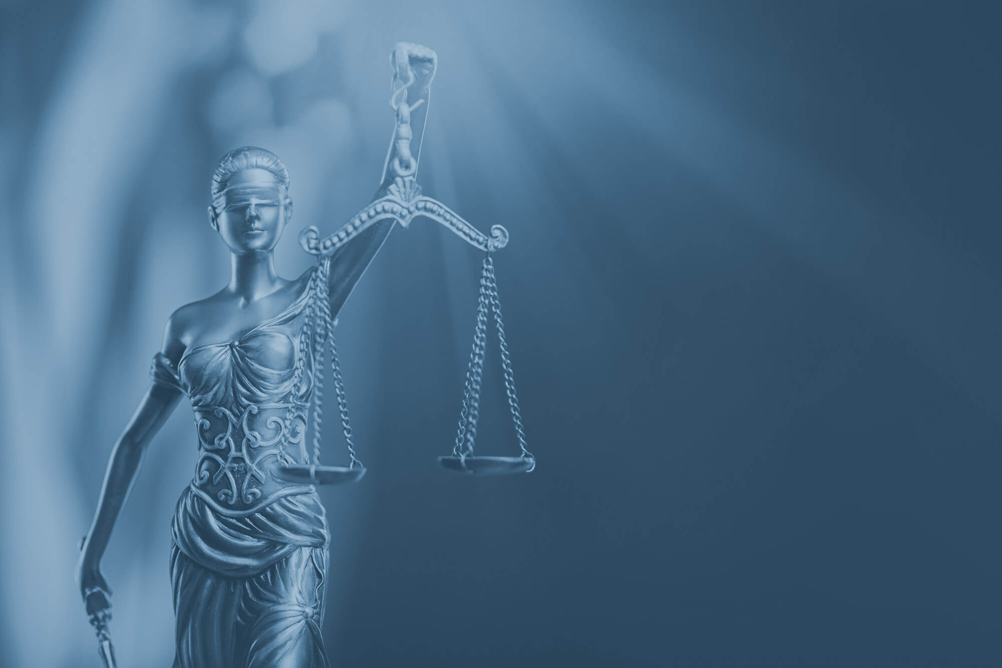 blue filter lady justice
