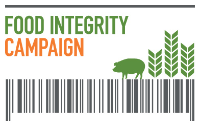 food integrity campaign logo