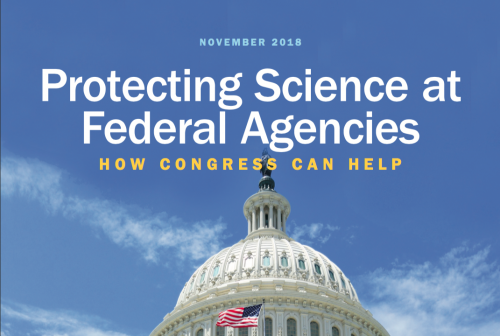 november 2018 protecting science at federal agencies: how congress can help